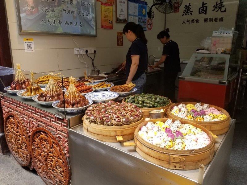 上海観光・七宝老街のストリートフード