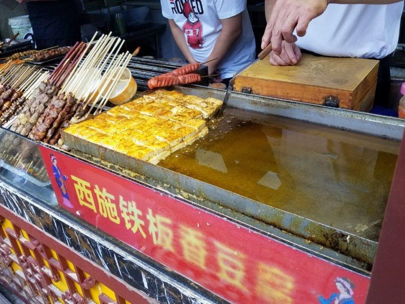 上海観光・七宝老街のマーケット