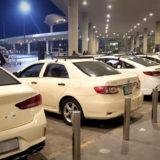 ヨルダンの首都アンマン。空港タクシー。