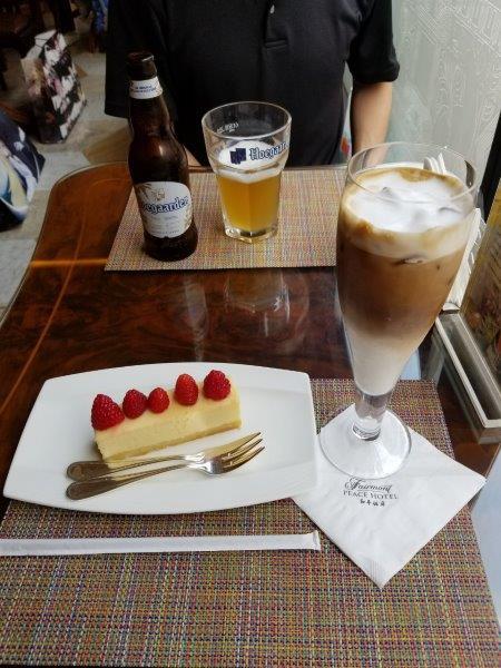 上海のフェアモント・ピース・ホテル。ビクターズ・カフェ