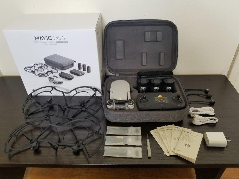DJI Mavic Mini コンボ、マビック ミニ コンボ の内容