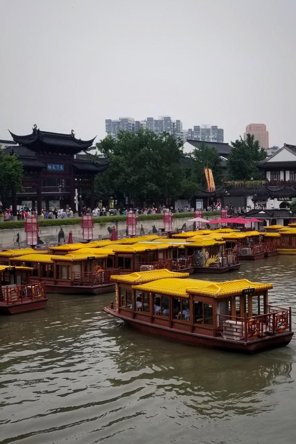 上海から南京へ、新幹線で日帰りの旅、。
