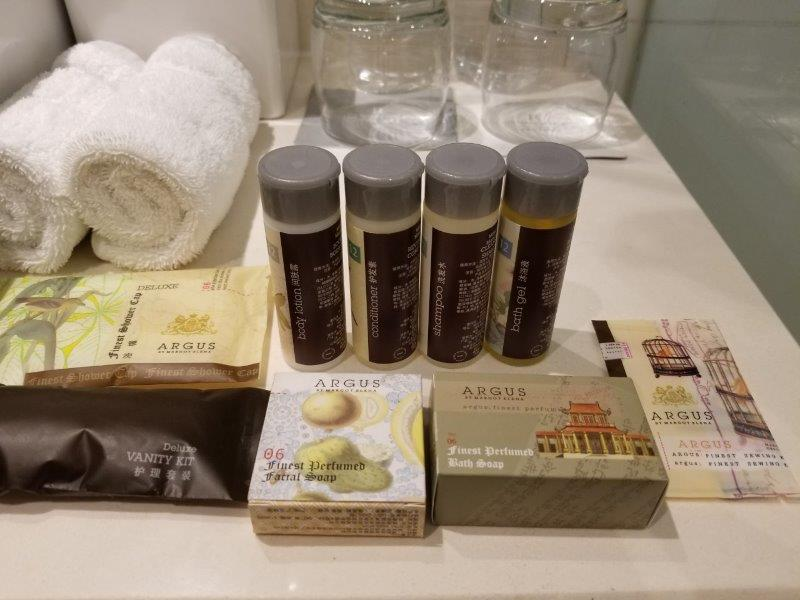 ルネッサンス 上海 豫園 ホテル 洗面用具