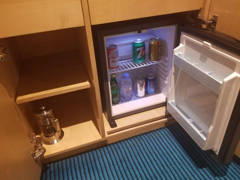 ルネッサンス 上海 豫園 ホテル 冷蔵庫
