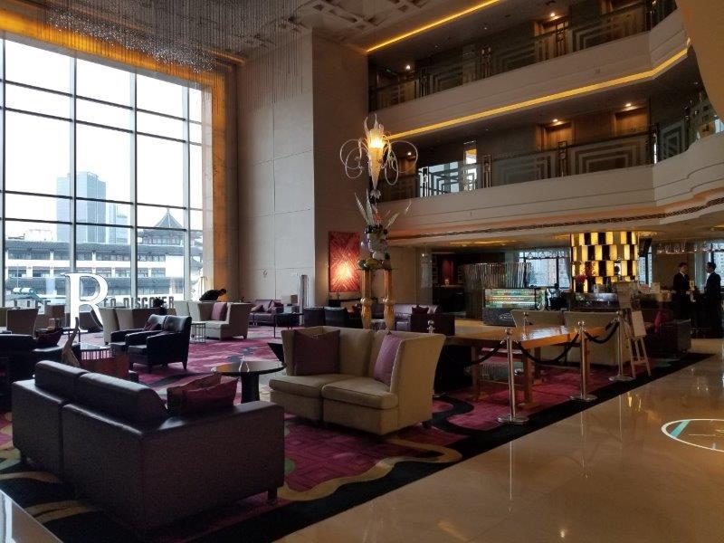 ルネッサンス 上海 豫園 ホテル ロビーとラウンジ