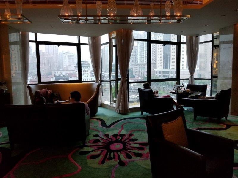 ルネッサンス 上海 豫園 ホテル ラウンジ