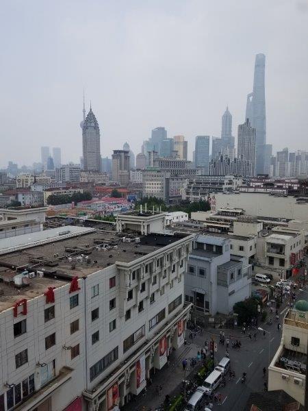 ルネッサンス 上海 豫園 ホテル 部屋からの眺め
