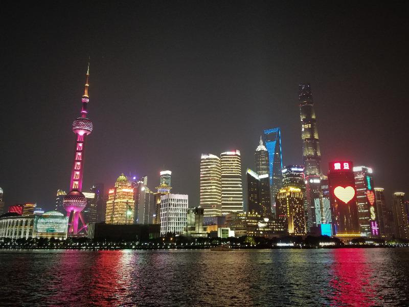 上海スカイラインの夜景