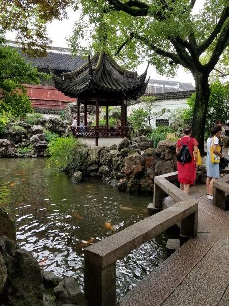 上海のおすすめスポット「豫園(よえん)」。