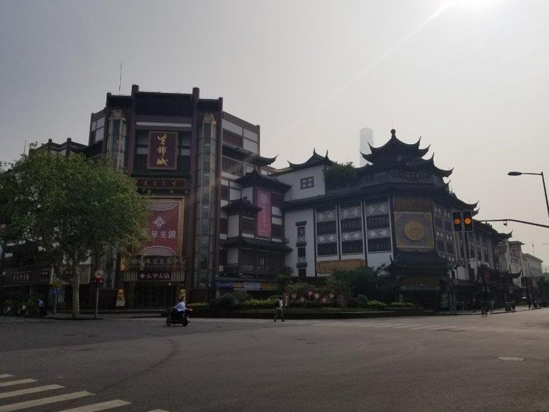 上海のみどころ「豫園商城」。