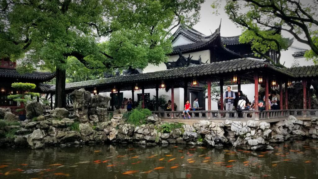 上海の中国庭園「豫園(よえん)」