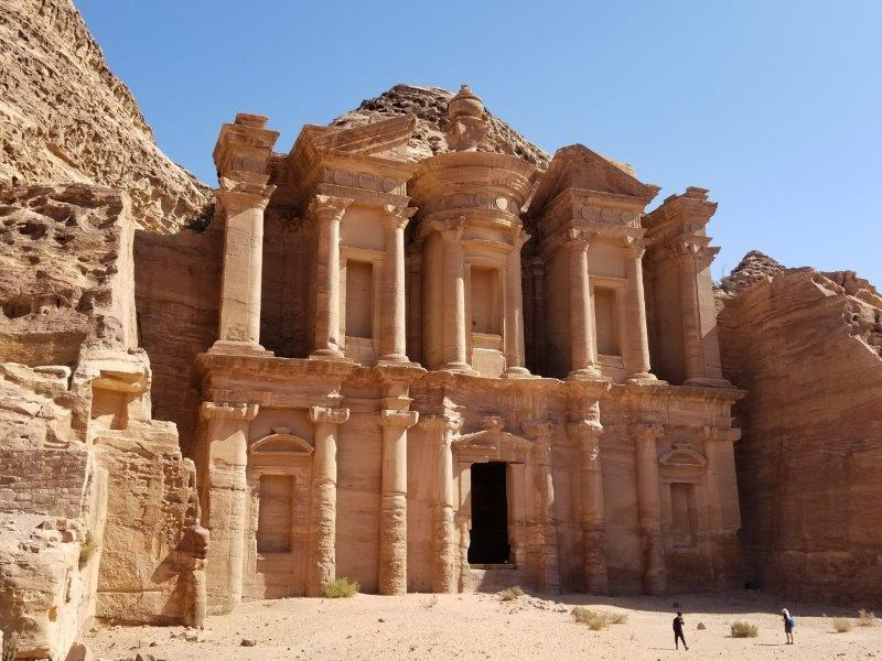 ヨルダン旅行・ペトラの「エド・ディル(修道院・The Monastery)」