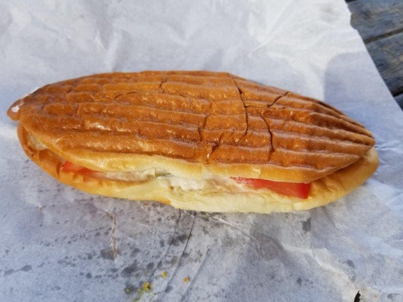 アンマンのファラフェル・サンドイッチのお店「Al Quds Falafel」