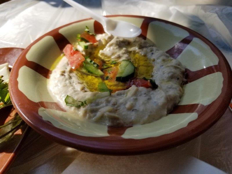 ヨルダン・アンマンダウンタウンのローカルレストラン「Hashem」。
