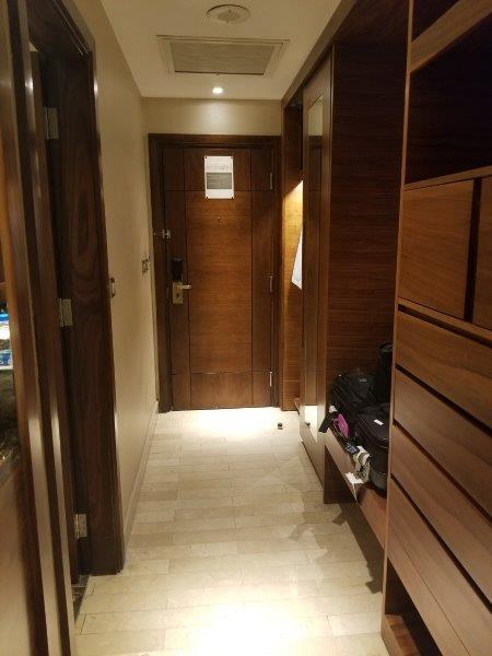 ヨルダンのインターコンチネンタルホテル・アンマン(InterContinental Amman)。客室。