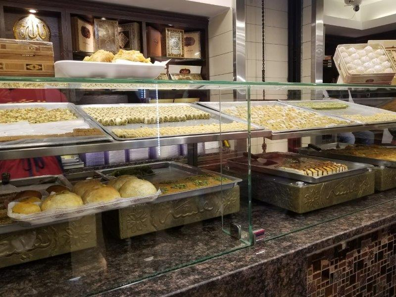 アンマンのカナーフェのお菓子屋さん「Nafeeseh Sweets」