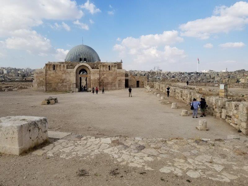 ヨルダンのアンマン城塞(シタデル)・ウマイヤ朝の宮殿