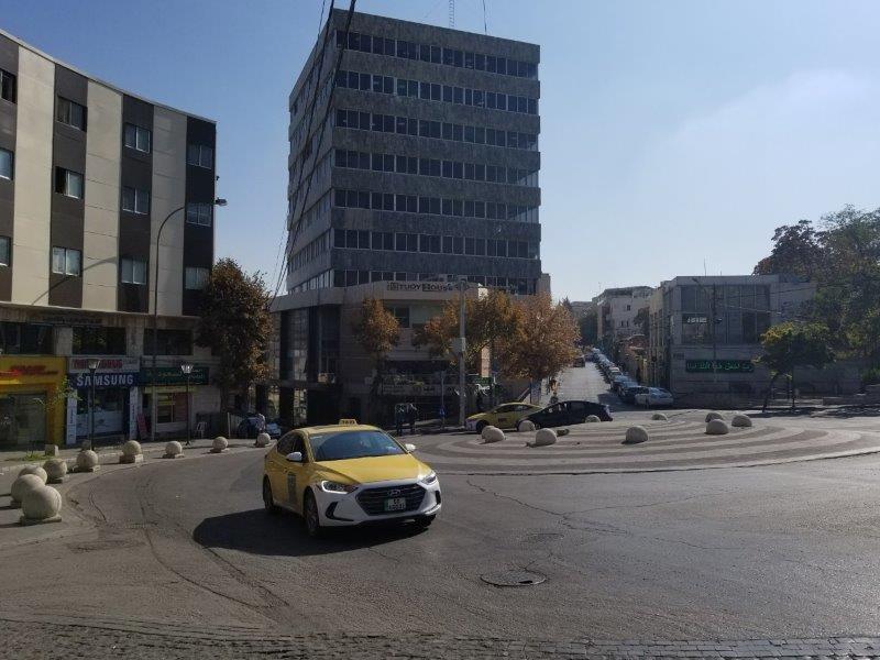 ヨルダンの首都アンマンのファースト・サークル
