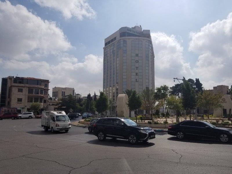 ヨルダンの首都アンマンのセカンド・サークル