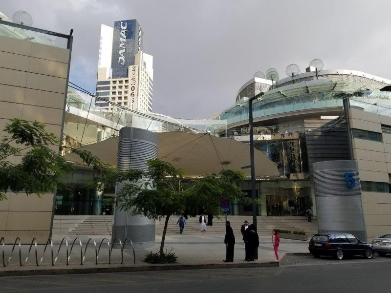 ヨルダンの首都アンマンの開発地区