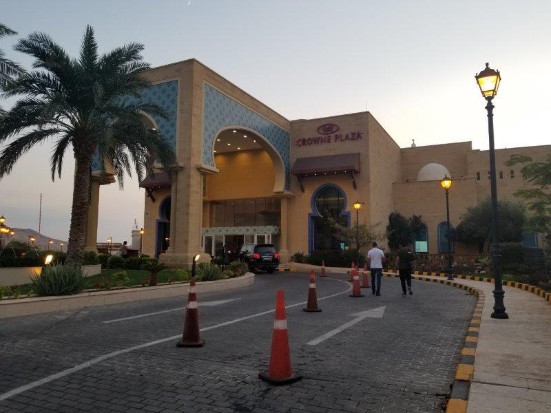 ヨルダン・死海リゾートのCrowne Plaza Dead Sea Resort & Spa(クラウンプラザ・ホテル)