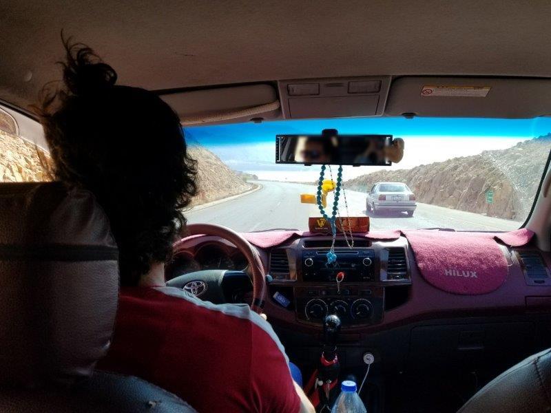 ヨルダン旅行・死海リゾートからペトラまでの道のり