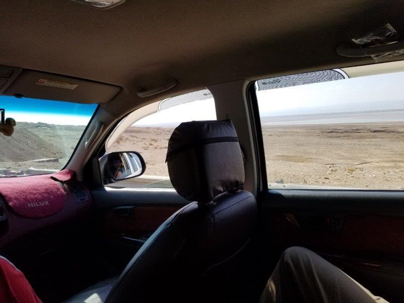 ヨルダン旅行・死海リゾートからペトラまでのドライブ