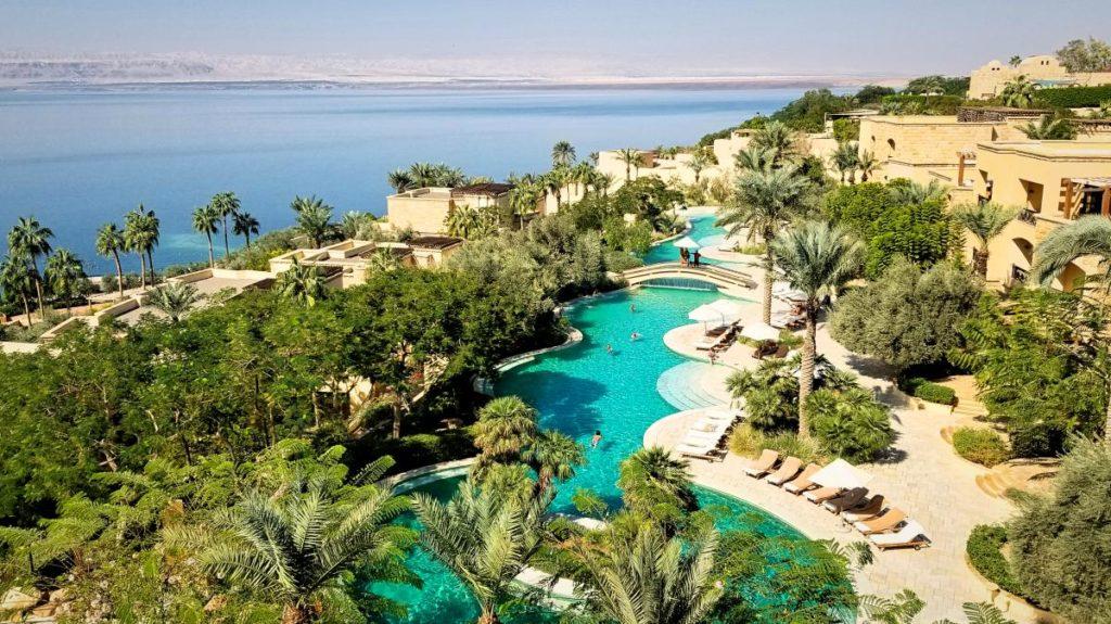 ヨルダンの死海リゾート。グルメ特集。