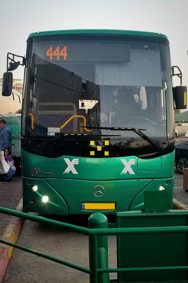イスラエル旅行・エゲッドバス(イスラエル~エイラット)