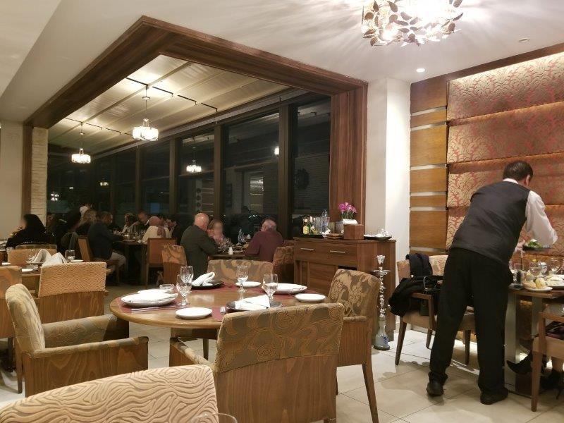 ヨルダン・アンマン観光。本格アラブ料理のレストラン「Levant(レバント)」。