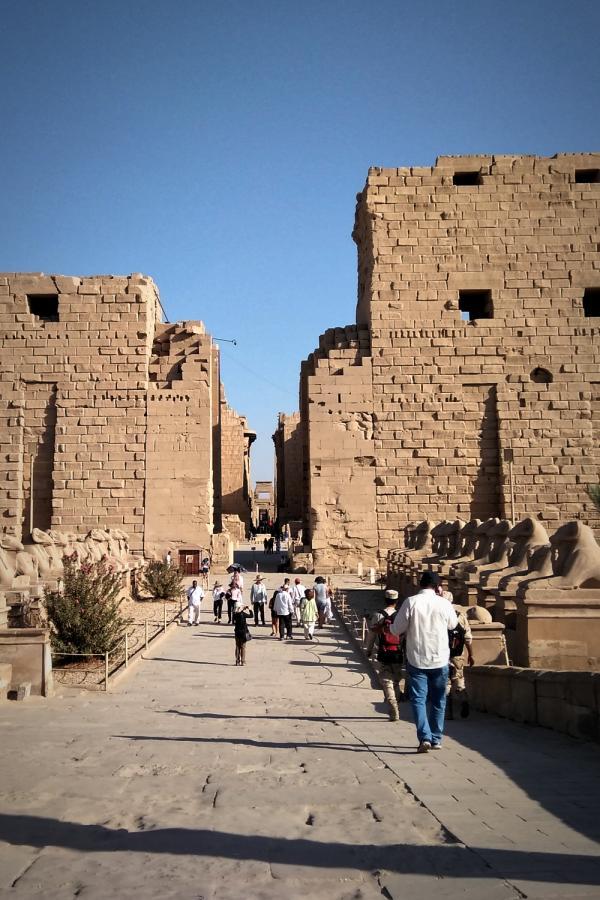 エジプトのルクソール