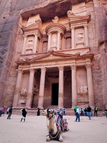 ヨルダンの世界遺産・ペトラ遺跡