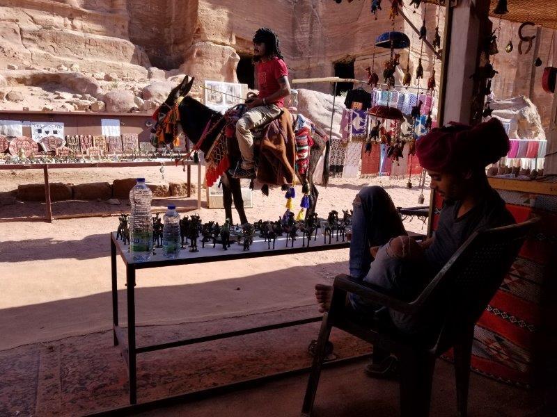 ヨルダン旅行・ペトラの茶屋