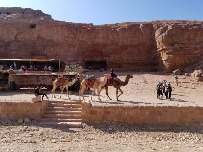 ヨルダン旅行・ペトラの商人