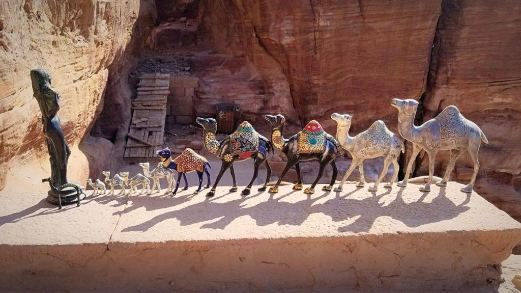 ヨルダン旅行・ペトラのラクダのお土産。