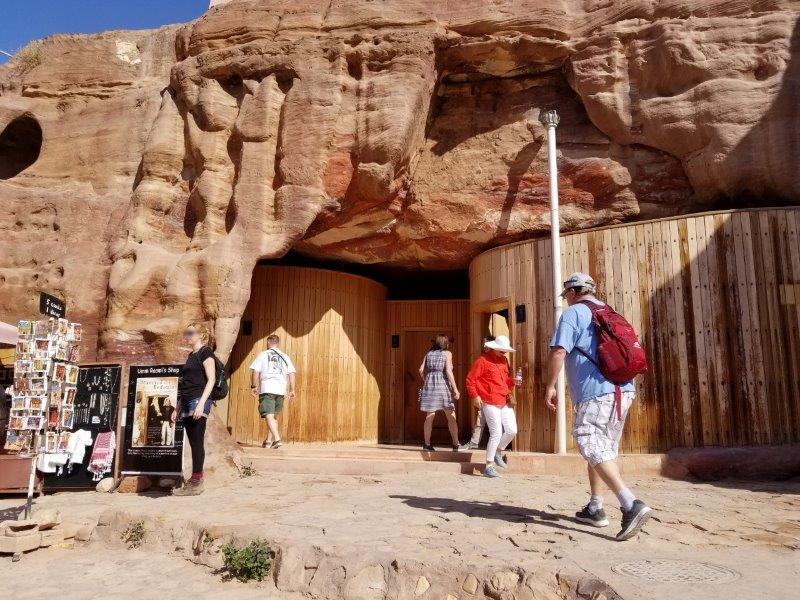 ヨルダン旅行・ペトラのトイレ