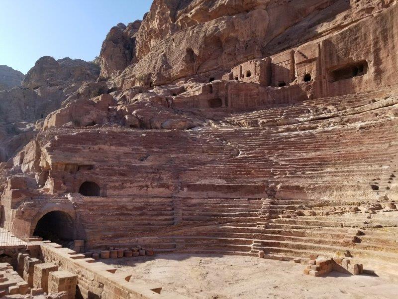 ヨルダン旅行・ペトラの遺跡