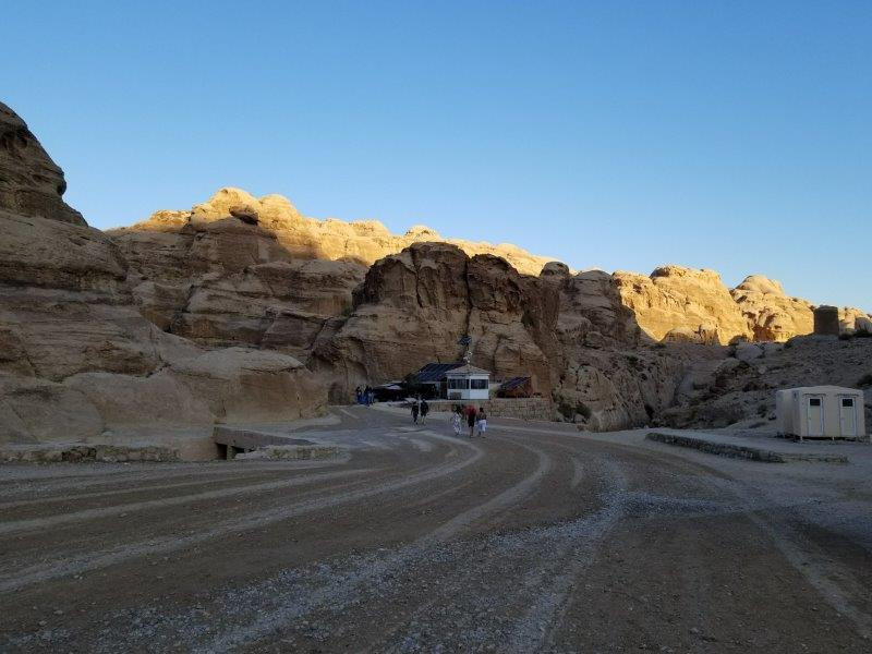 ヨルダン・ペトラへの道