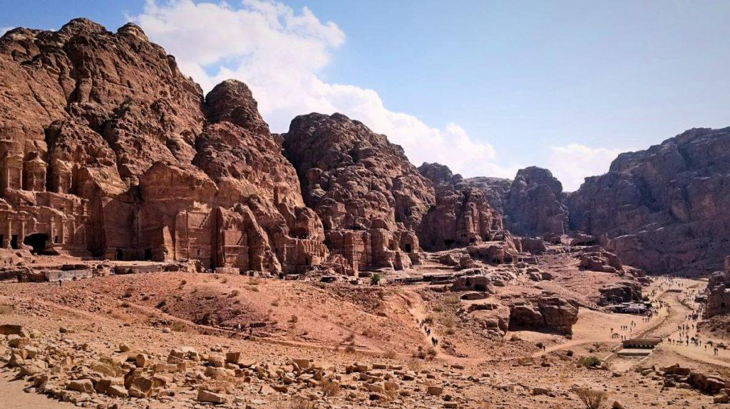 ヨルダン・世界遺産・ペトラ遺跡