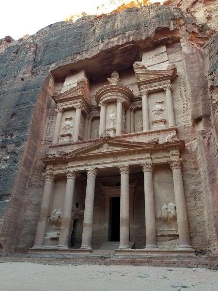 ヨルダン旅行・ペトラの宝物殿「エル・カズネ」