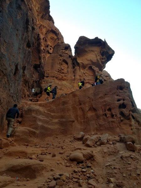 ヨルダン旅行・ペトラの宝物殿「エル・ハズネ」