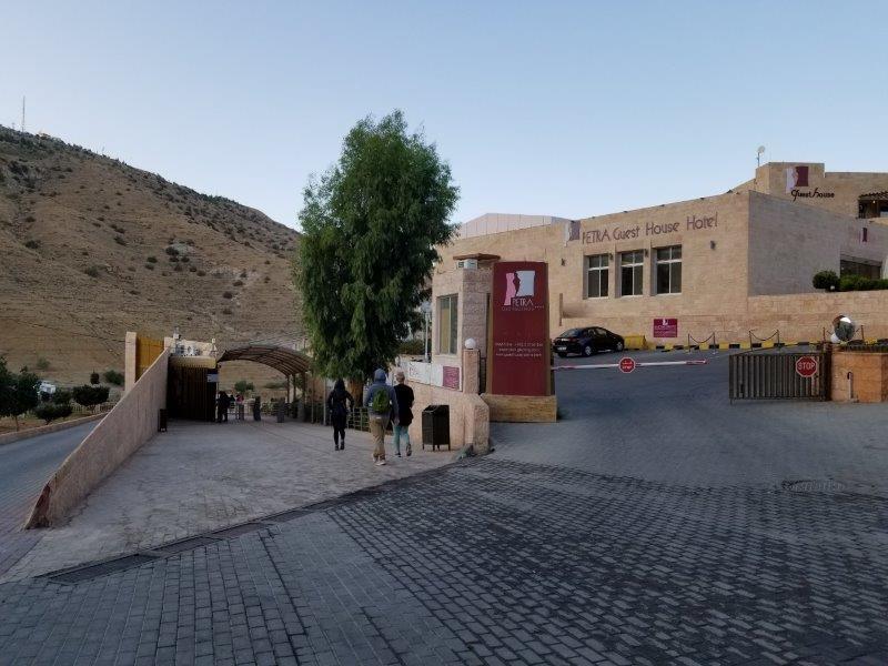ヨルダン・ペトラの入り口