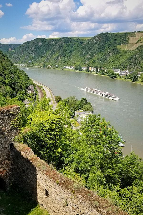 ライン川渓谷とライン川クルーズ