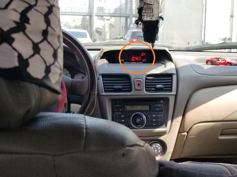 アンマンのタクシー料金