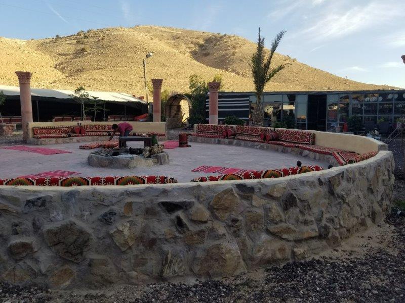 ヨルダン旅行。「Seven Wonders Bedouin Camp(ベドウィン・キャンプ)」