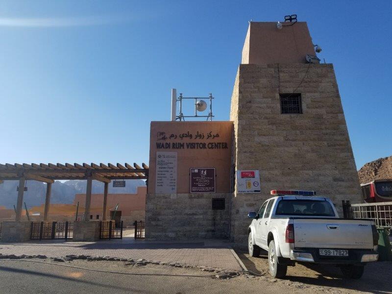 ヨルダン旅行南部の砂漠地帯「ワディ・ラム」