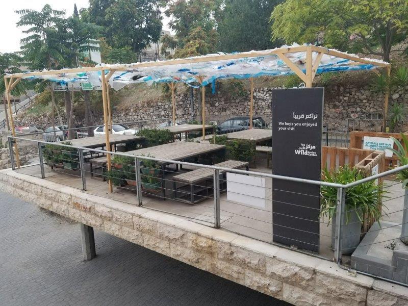 アンマンの「ワイルド・ヨルダン・カフェ(Wild Jordan Cafe)」
