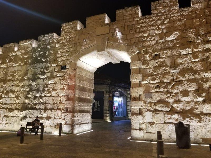 イスラエル旅行・エルサレム旧市街の新門(New Gate )