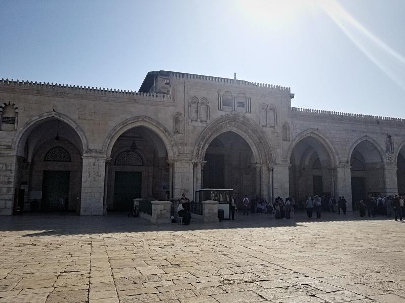 エルサレムの聖地アルアクサ・モスク