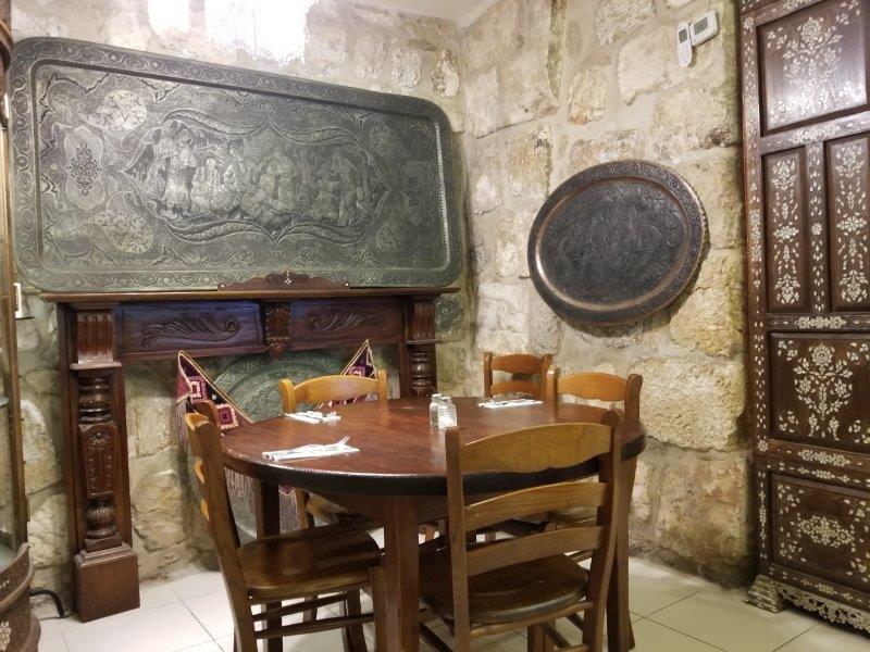 イスラエル旅行・エルサレムのアルメニア料理のレストラン「アルメニアン・タバーン」